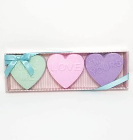 Sweet Heart Trio Set - Bath Bombs