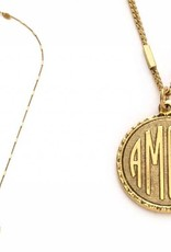 Amour Medallion Necklace