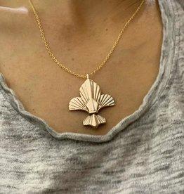 """Fleur De Lis Necklace - 18"""""""