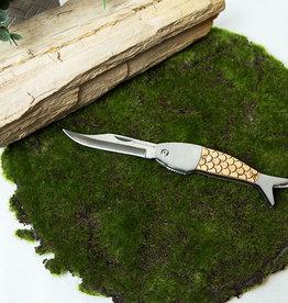 Sterling Brooks Wood Handled Fish Knife  - Large