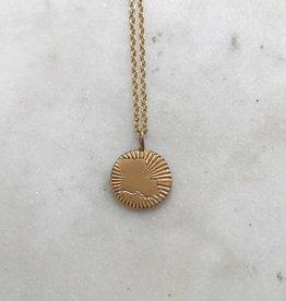 "Louisiana Burst Necklace 18"""