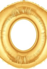 "Gold Foil Number Baloon 40"""