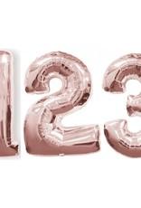 """Rose Gold Foil Balloons 40"""""""