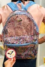 Multi Confetti Clear Backpack