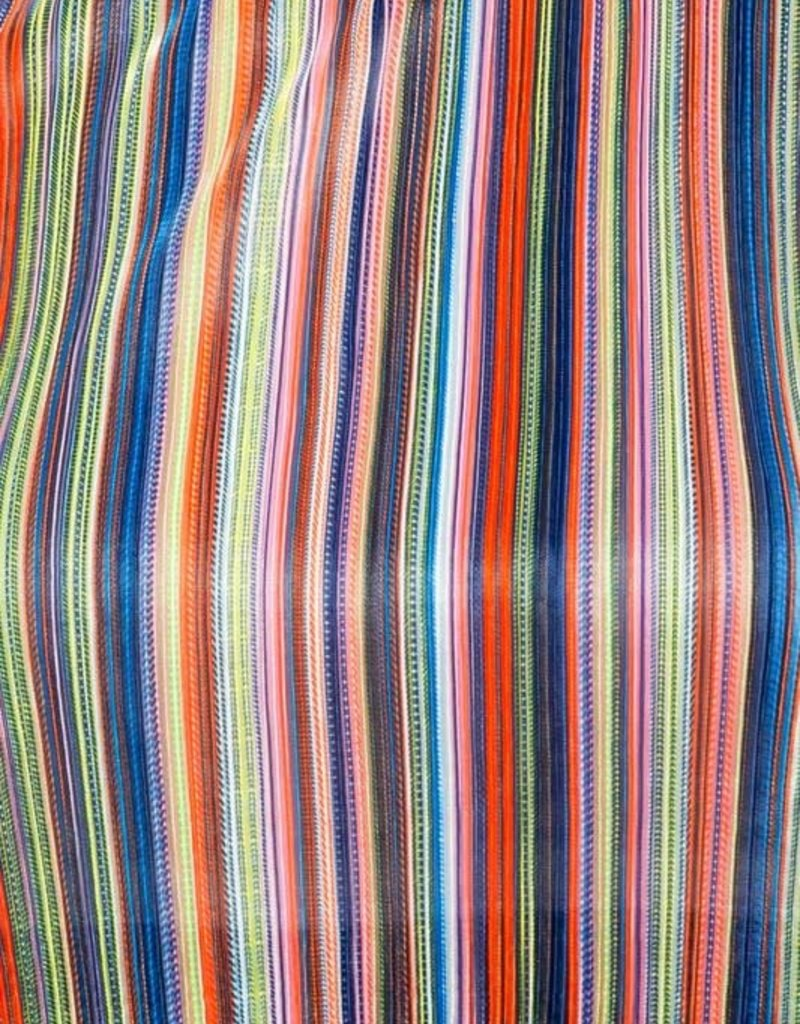 Multi-Color Striped Jumpsuit