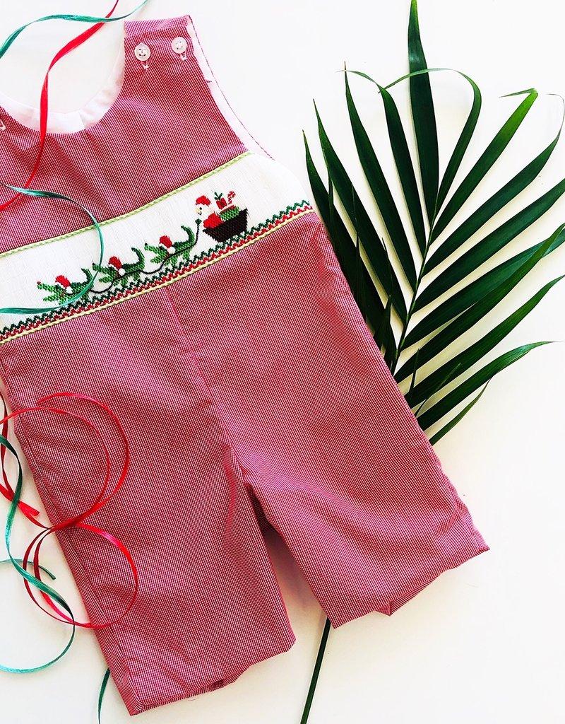 Smocked Cajun Christmas Longall