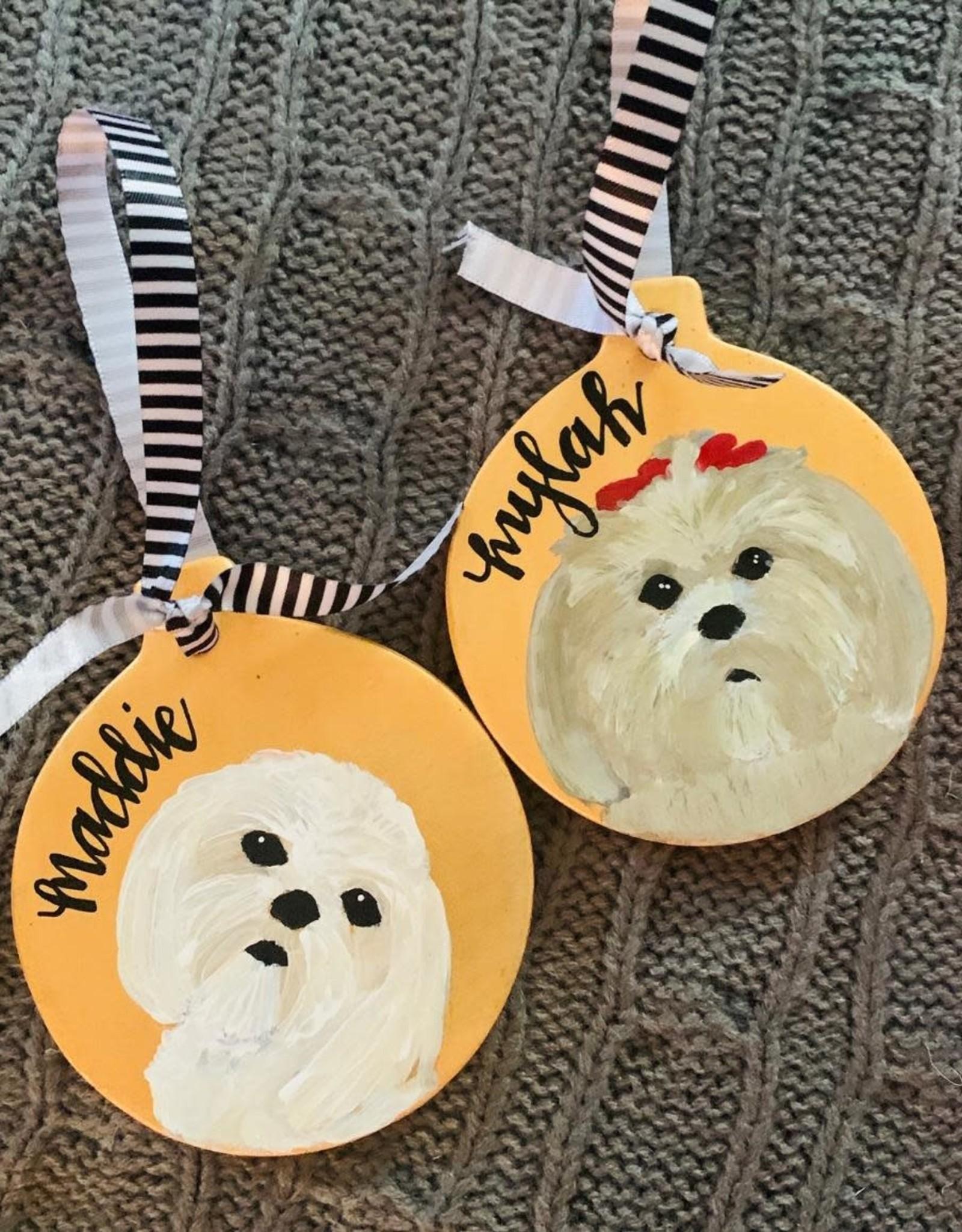 Custom Holiday Ceramic Ornament