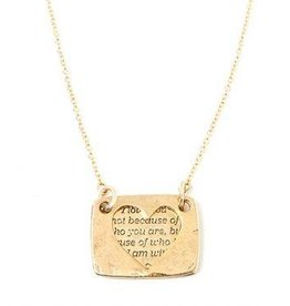 Love Notes Necklace - Heart
