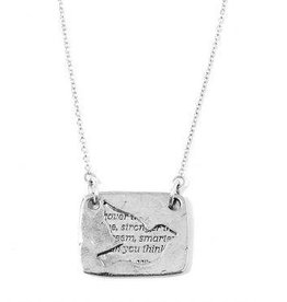 Love Notes Necklace - Bird