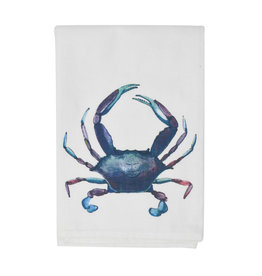 Blue Crab Dish Towel