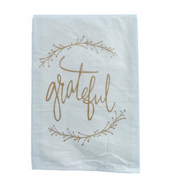 Grateful Dish Towel