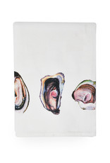 Oyster Watercolor Dish Towel