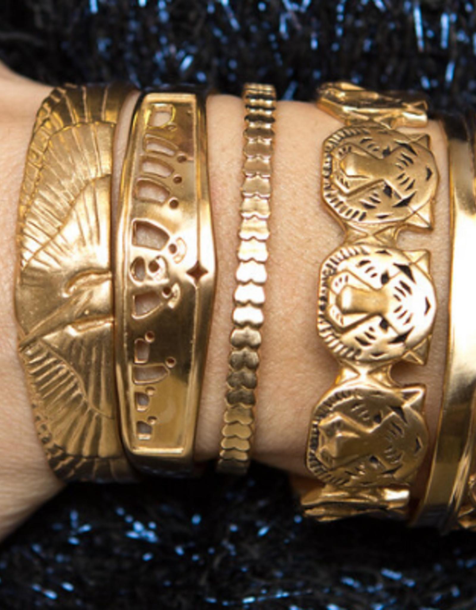 Tiger Cuff Bracelet