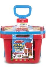 Melissa and Doug Rolling Grocery Basket