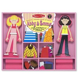 Melissa and Doug Abby and Emma Magnetic Dress-Up