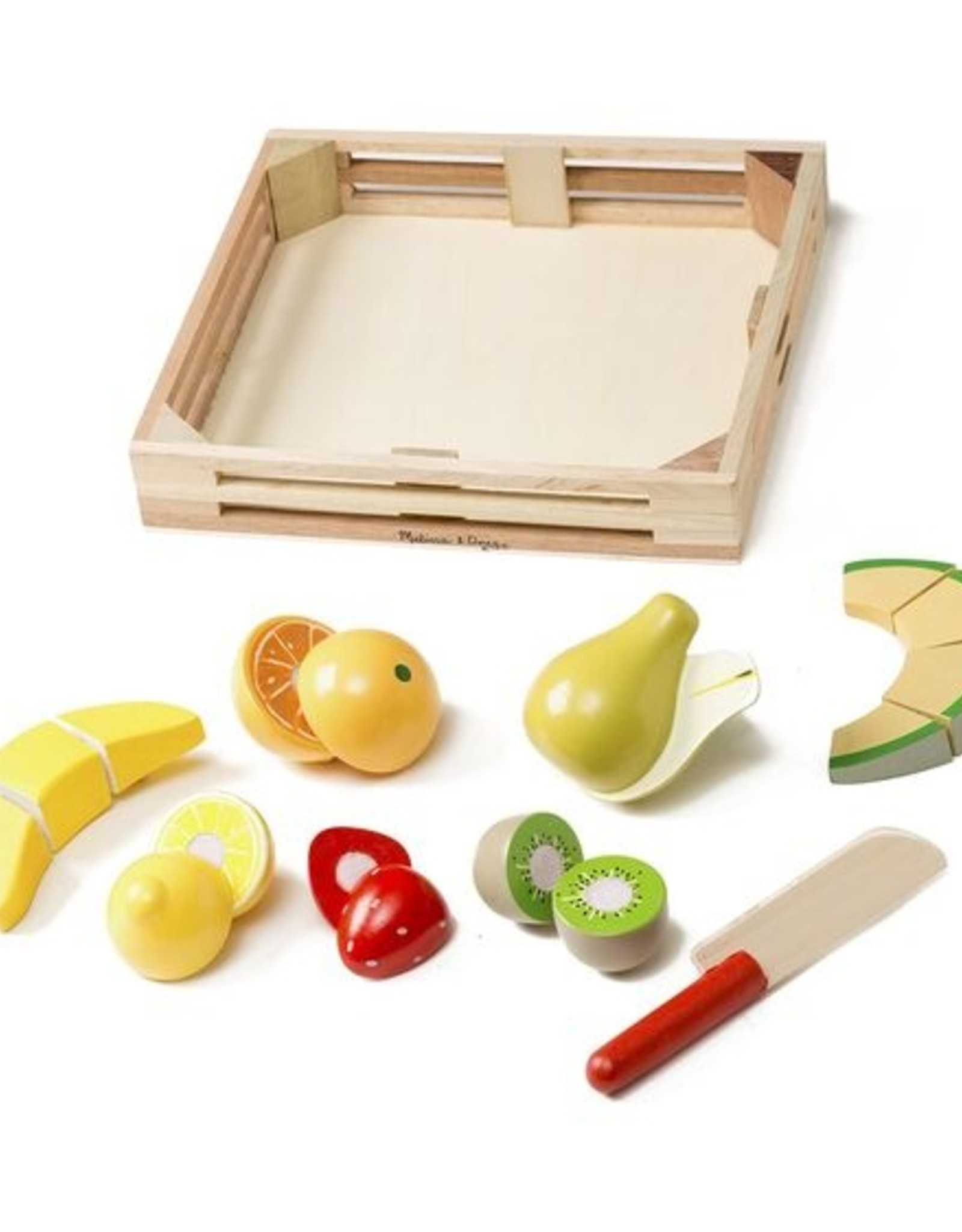 Melissa and Doug Wooden Cutting Fruit