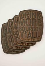 Bourbon Coasters