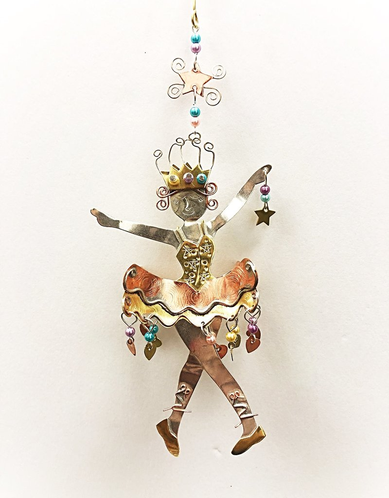 Metal Art Ornament - Sugarplum Fairy