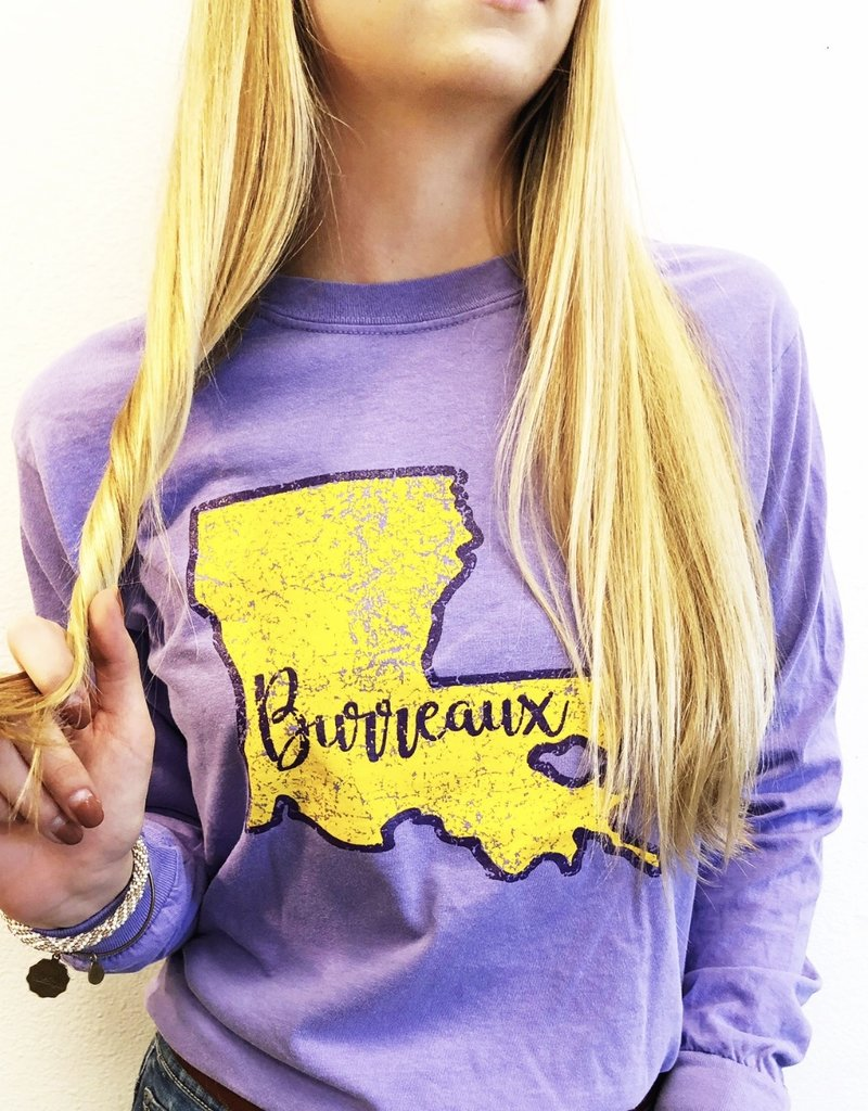 Long Sleeve LSU Joe Burrow Shirt