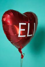 Valentine's Gift Set - Plush Alligator, Balloon, & Candy
