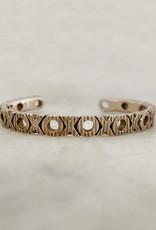 XOXO Cuff Bracelet