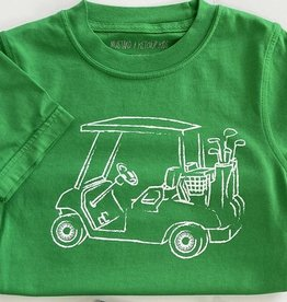 Golf Cart T-Shirt - Green