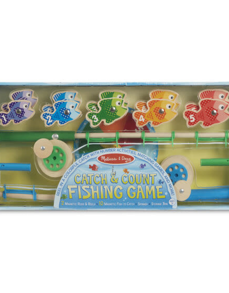 Melissa and Doug Catch & Count Fishing Game