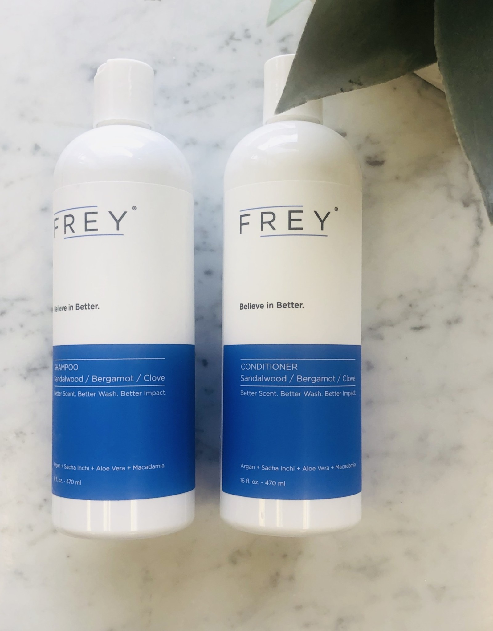 Frey 16oz Shampoo - Sandalwood/Bergamont/Clove
