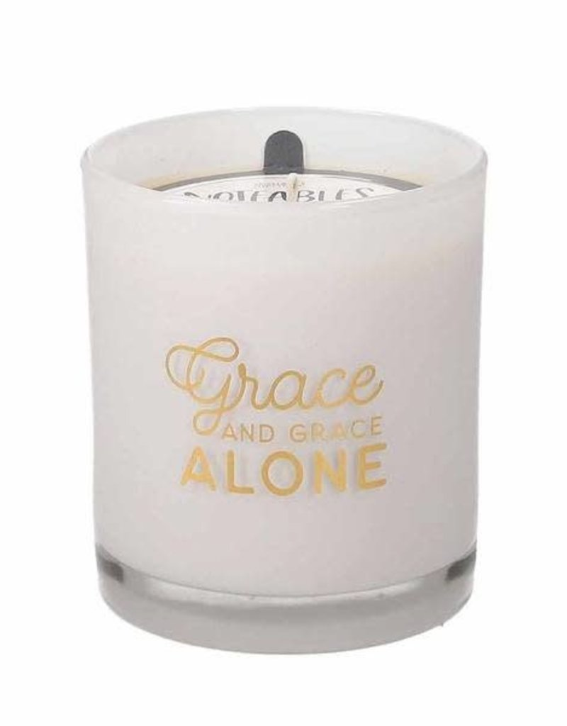 Sweet Grace Noteables Candle - Grace and Grace Alone