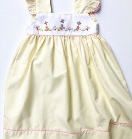 Yellow Blooming Festival Dress