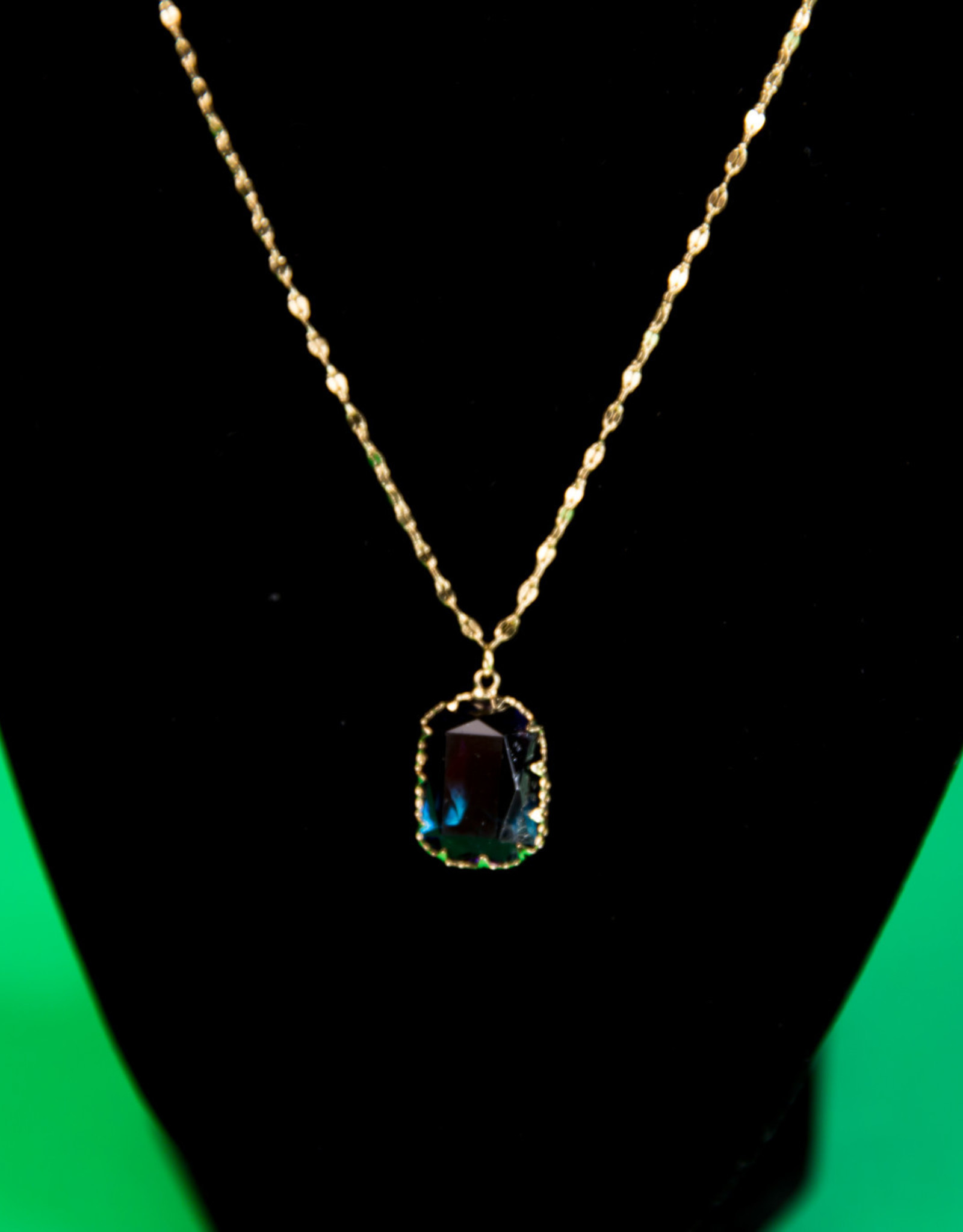 Gem Stone Gold Necklace