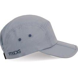 Gray Tri-fold Cap
