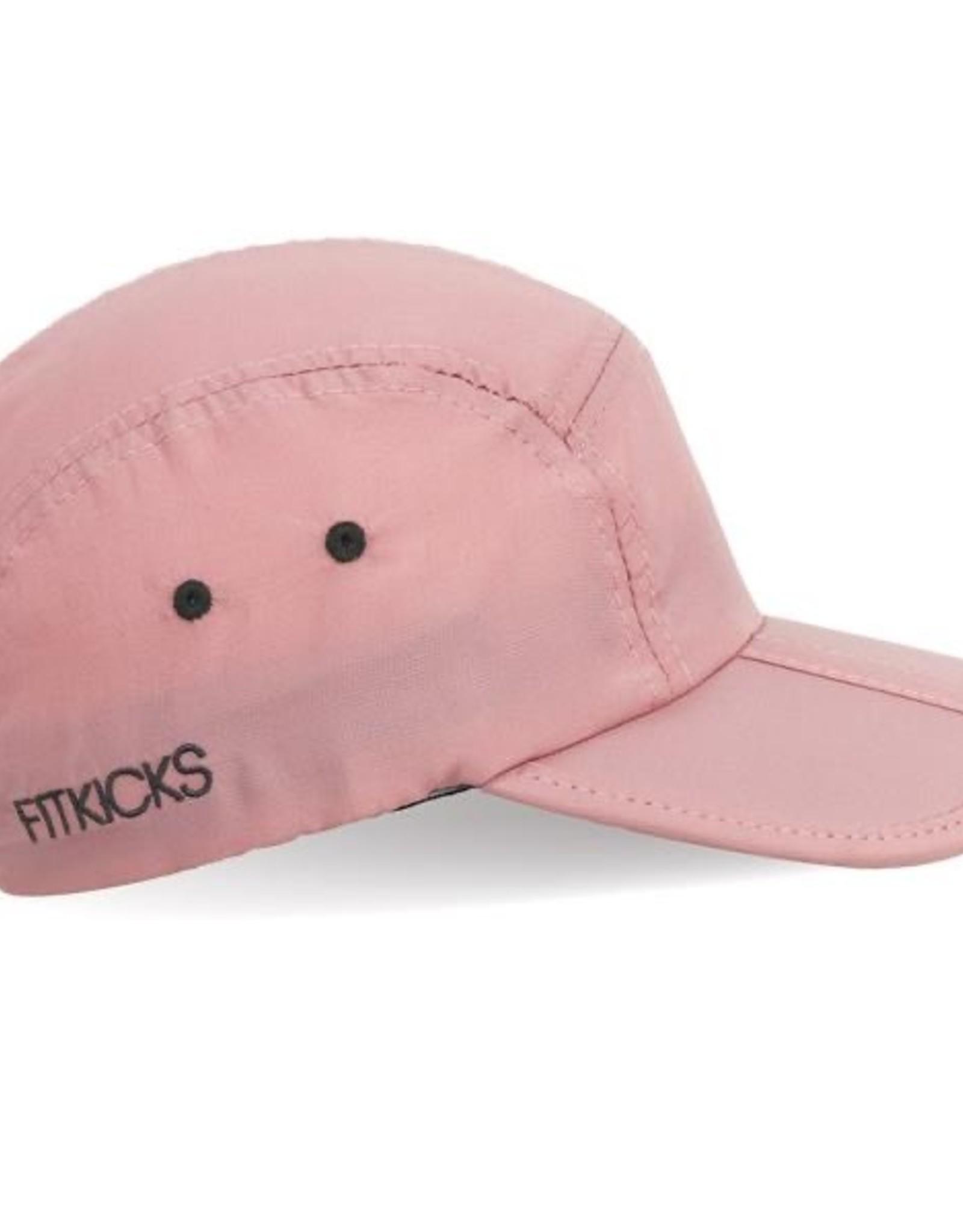 Pink Tri-fold Cap