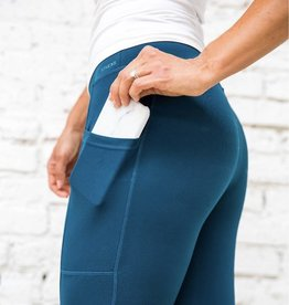 Teal Athletic Leggings