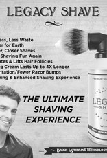 Legacy Shave Premium Shaving Cream With Brush - Individual Can