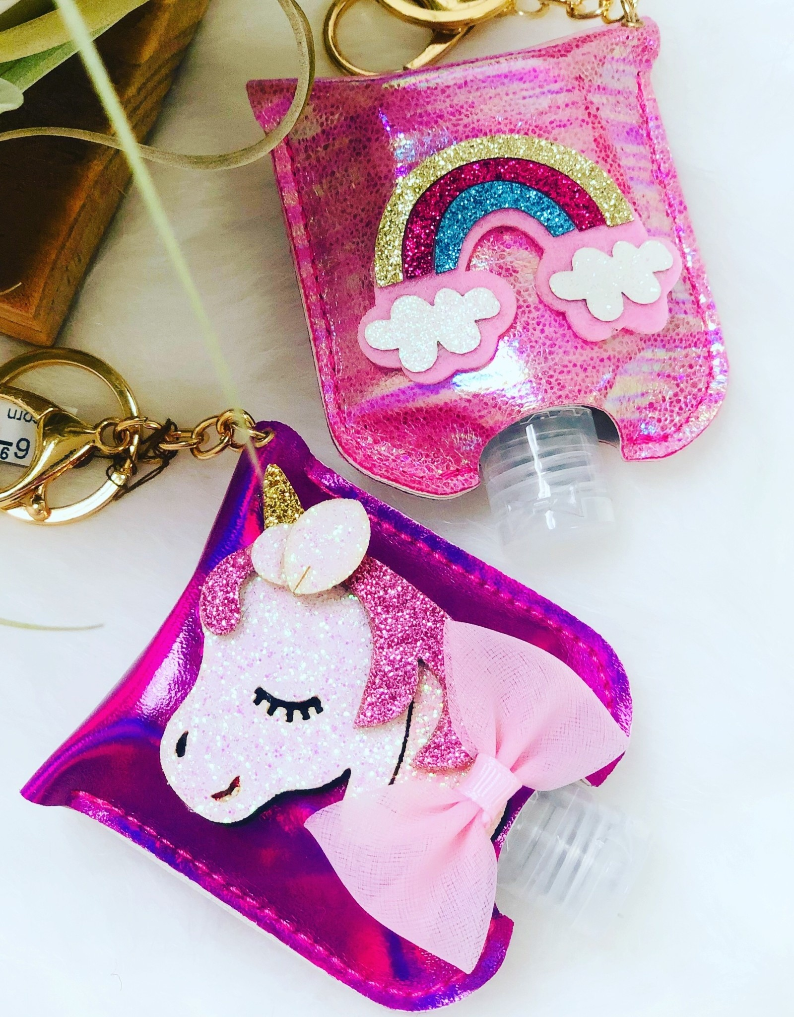 Keychain Sanitizer - Unicorn