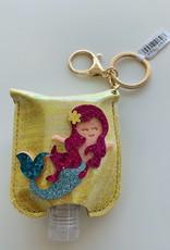 Keychain Sanitizer - Mermaid