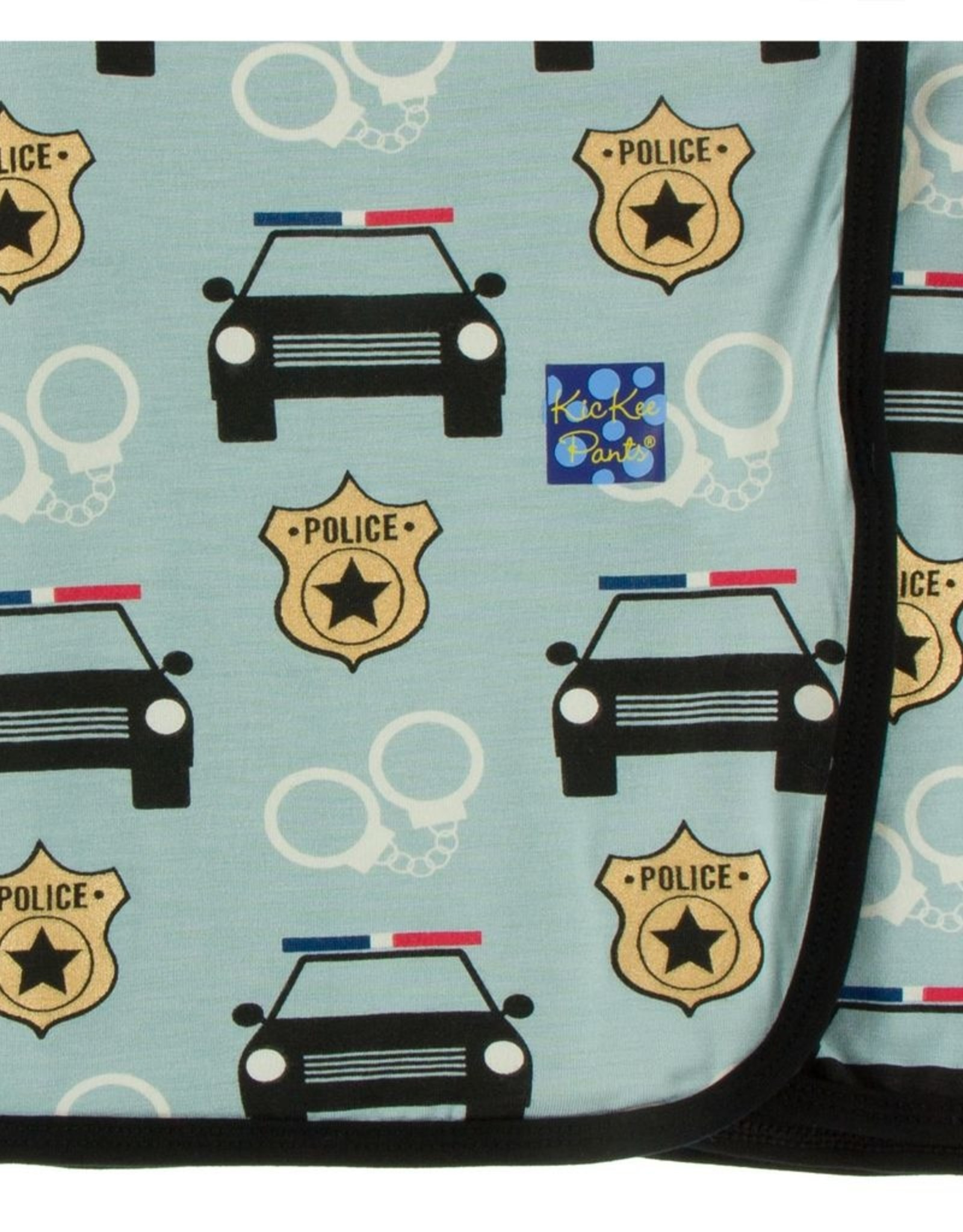 Kickee Pants Kickee Swaddling Blanket - Jade Law Enforcement
