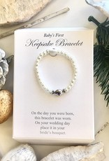 Heirloom Collection - Baby's First Keepsake Bracelet w/ Cross
