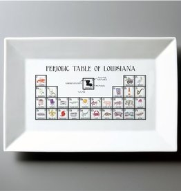 Dishique Louisiana Periodic Table Platter