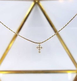 GOME Dainty Cross Necklace