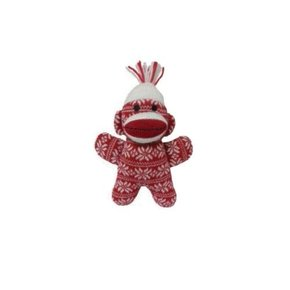Huxley & Kent Huxley & Kent-Holiday Sock Monkey SML-7.5""