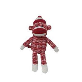 """Huxley & Kent Huxley & Kent-Holiday Sock Monkey  LG-11"""""""