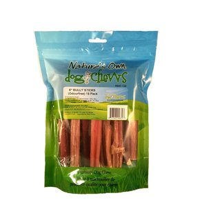"""Nature's Own Nature's Own-6"""" OdourFree Bully Stick 18pc bag"""