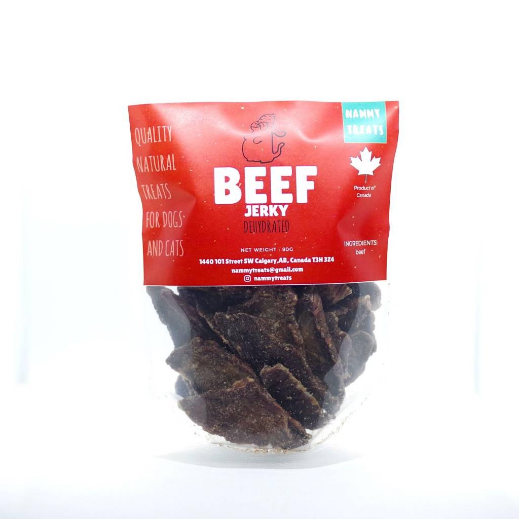 Nammy Treats Nammy Treats - Beef Jerky 90g