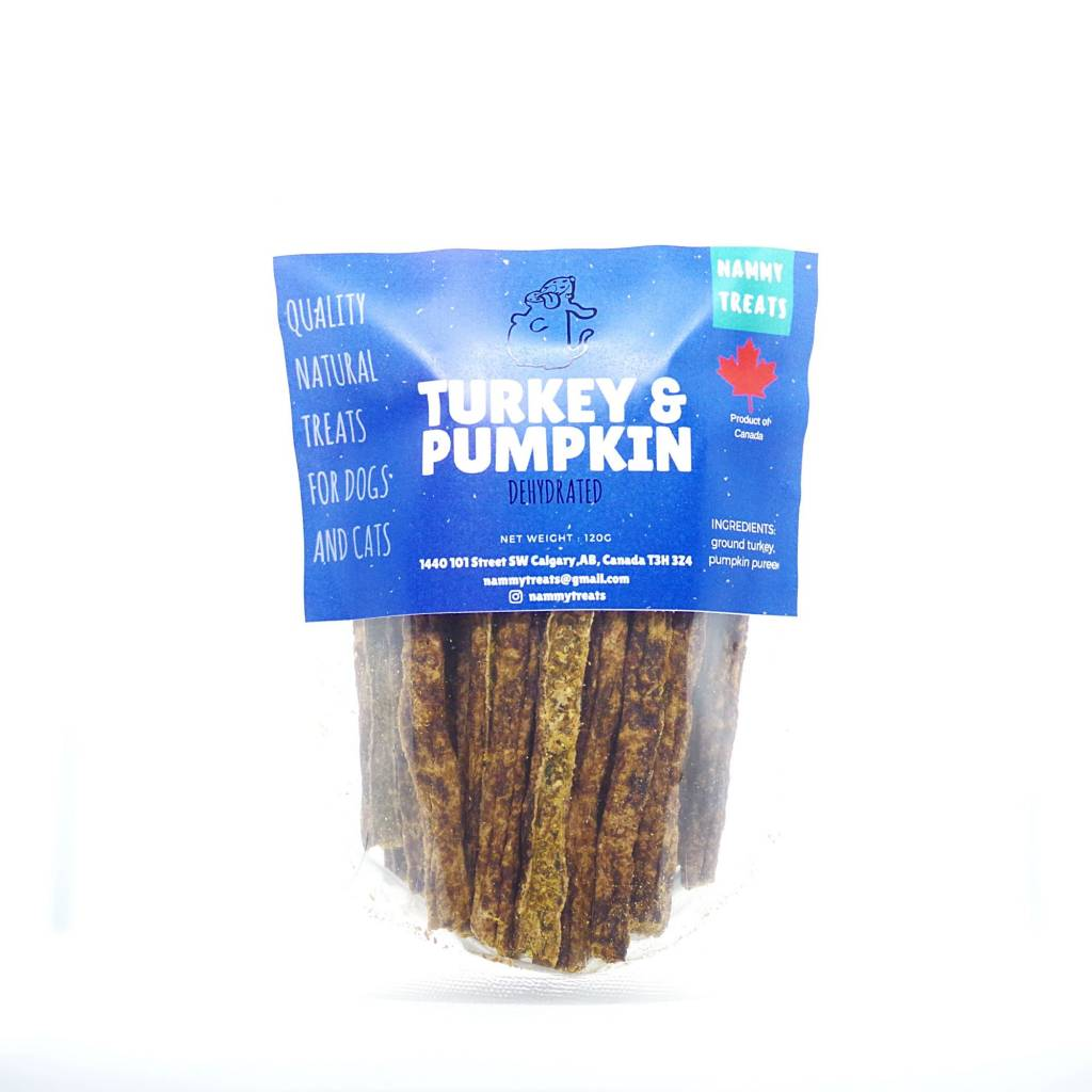 Nammy Treats Nammy Treats - Turkey & Pumpkin Sticks 120g