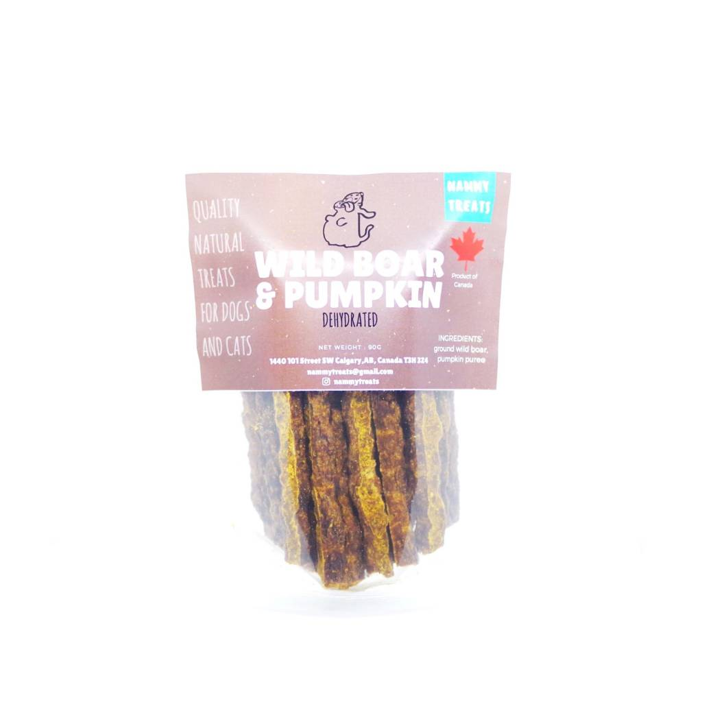 Nammy Treats Nammy Treats - Wild Boar & Pumpkin Sticks 90gr
