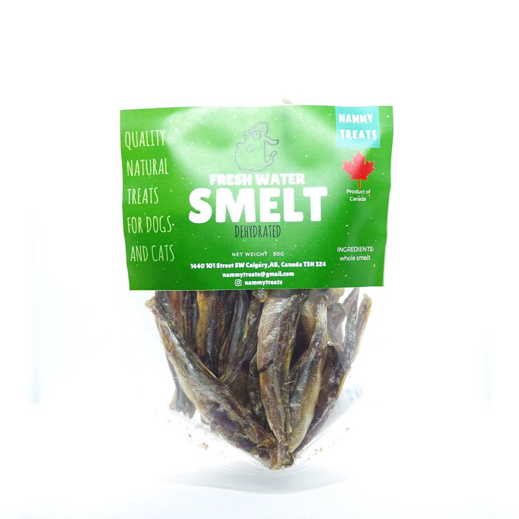 Nammy Treats Nammy Treats - Fresh Water Smelt 50g