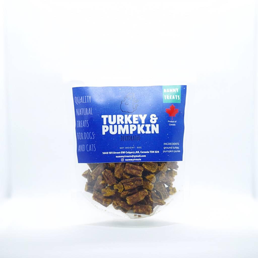 Nammy Treats Nammy Treats - Turkey & Pumpkin Training Treats 50g
