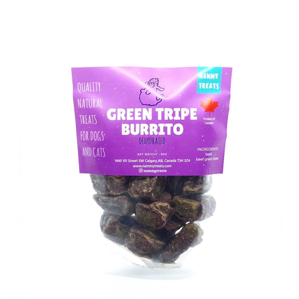 Nammy Treats Nammy Treats - Green Tripe Burrito 90g